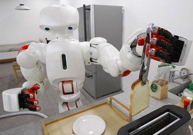Как сделать робота в доме