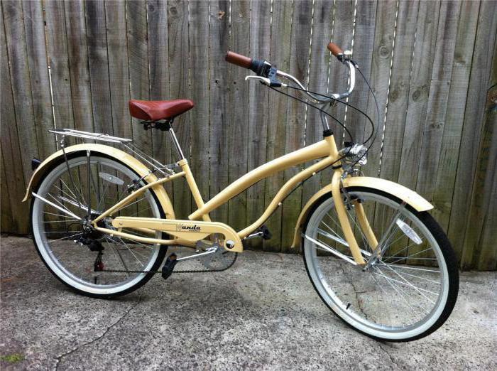 велосипед городской ретро