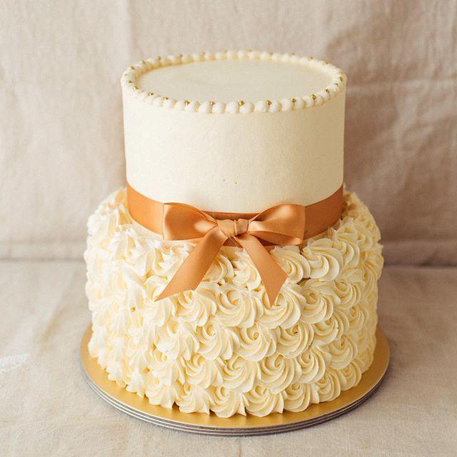 как сделать двухъярусный торт