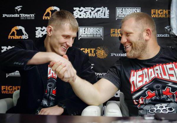fight Sergey Kharitonov