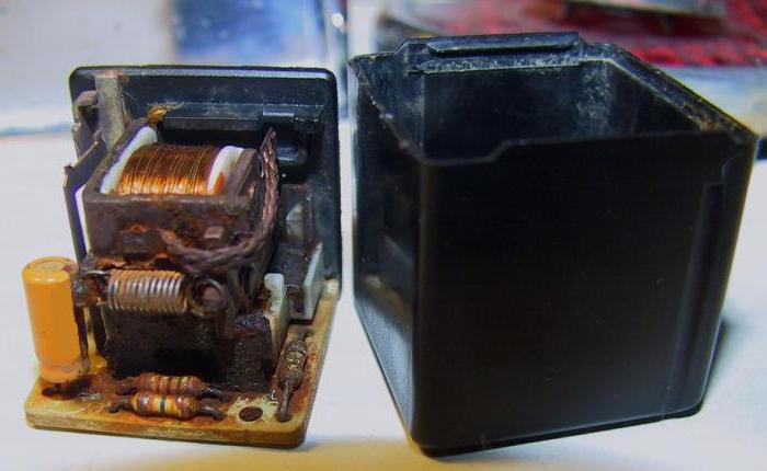 Wiper relay VAZ 2107