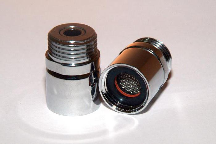 nozzle aerator for water saving