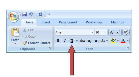 how to remove underscore in word
