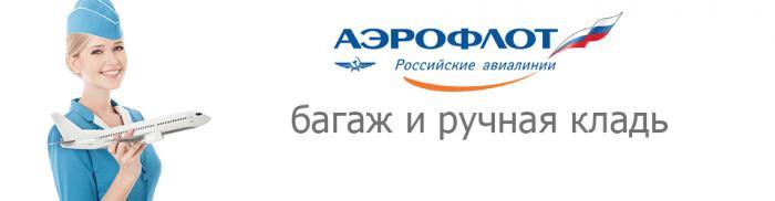 aeroflot luggage