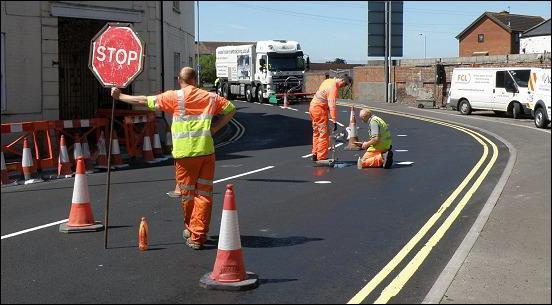 временные дорожные знаки при ремонтных работах