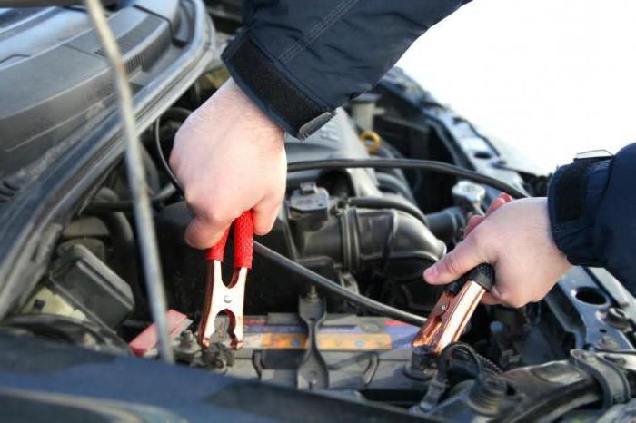 Car battery operating voltage