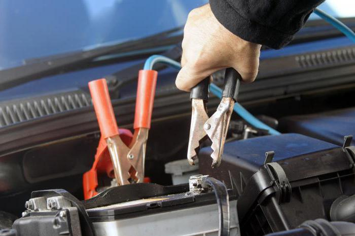Voltage new car battery