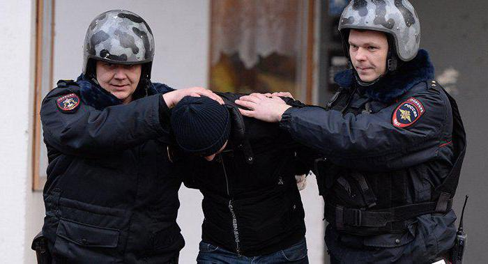полиция основные функции