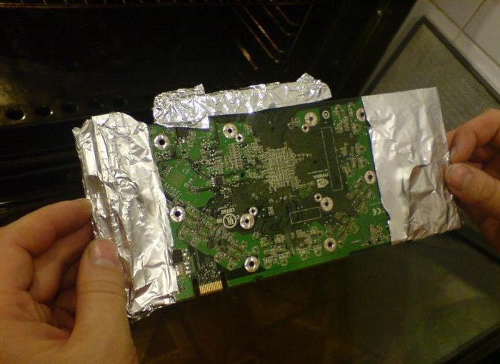 Как произвести ремонт видеокарты своими руками?
