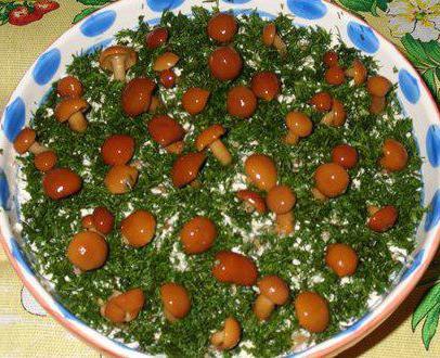 Салат поляна с копченой грудкой рецепт с