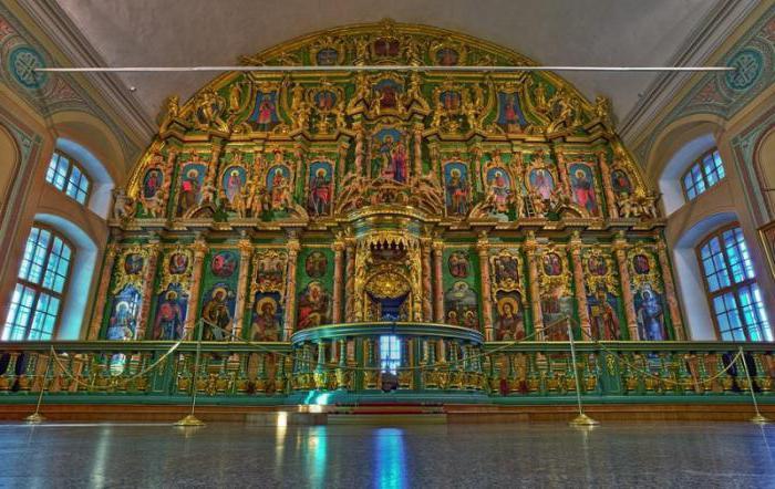 Sampsonievsky Cathedral interior