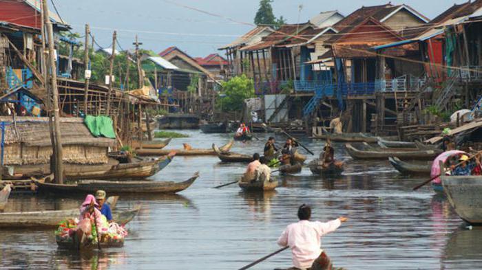 устье реки меконг
