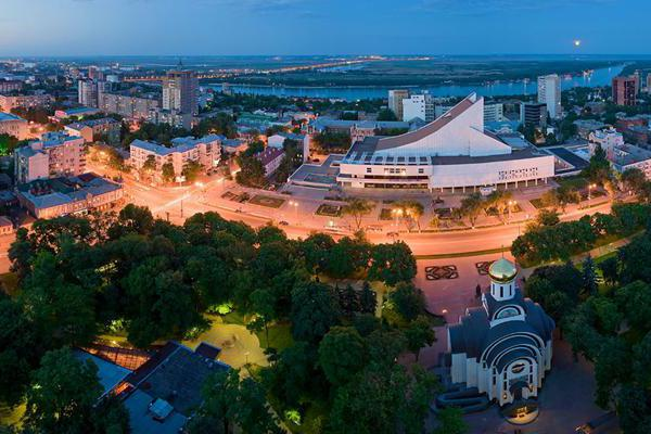 The population of Rostov-on-Don is