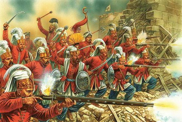 Janissaries in the Ottoman Empire