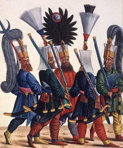 Who are the Sipahs and Janissaries