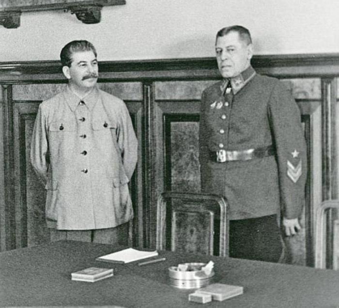 Marshal Shaposhnikov biography