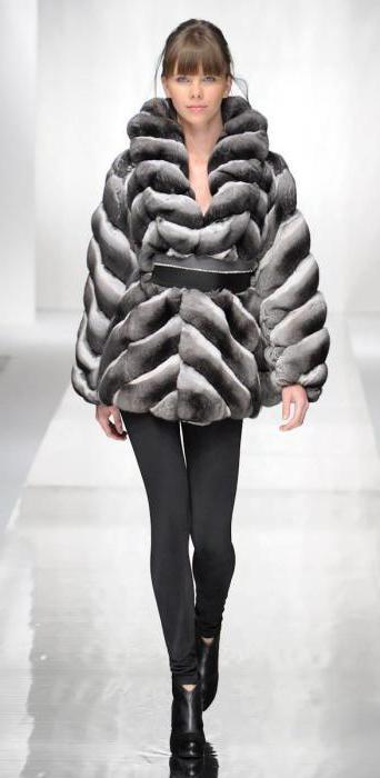 bunny chinchilla fur coat Price