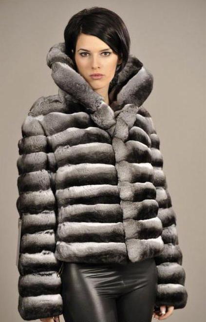 rabbit fur coat for chinchilla
