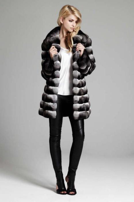 rex rabbit fur coats for chinchilla