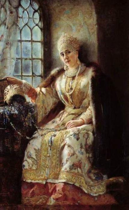 historical portrait of Alexey Adashev