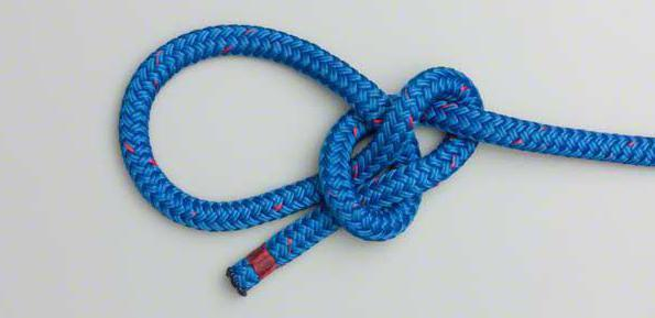 How to knit bowline knots