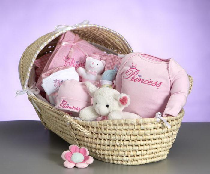Newborn gift from diapers