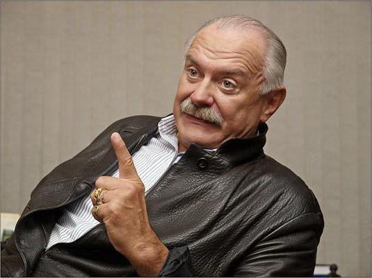 Nikita Mikhalkov personal life
