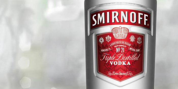 Vodka smirnov