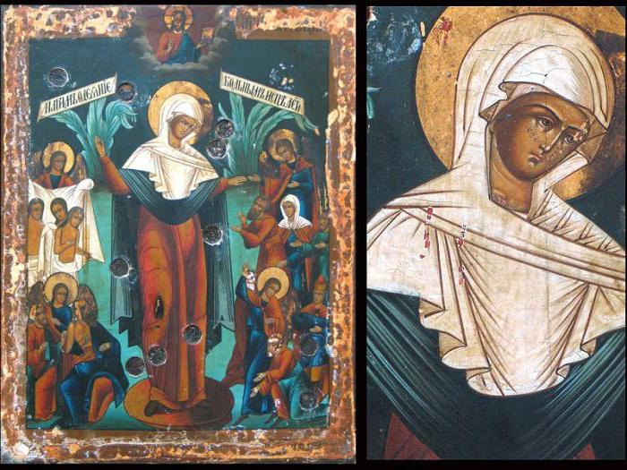 """Feast of the Icon of the Mother of God """"Joy of All Who Sorrow"""""""