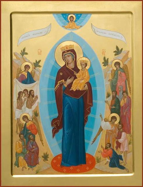 """Prayer """"Joy of All Who Sorrow"""" Icon of the Mother of God"""