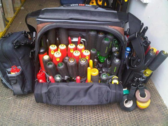 чемодан для инструментов электрика