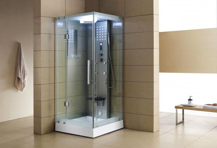 shower cabins with sauna