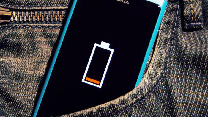 the phone takes a long time to charge and discharges quickly