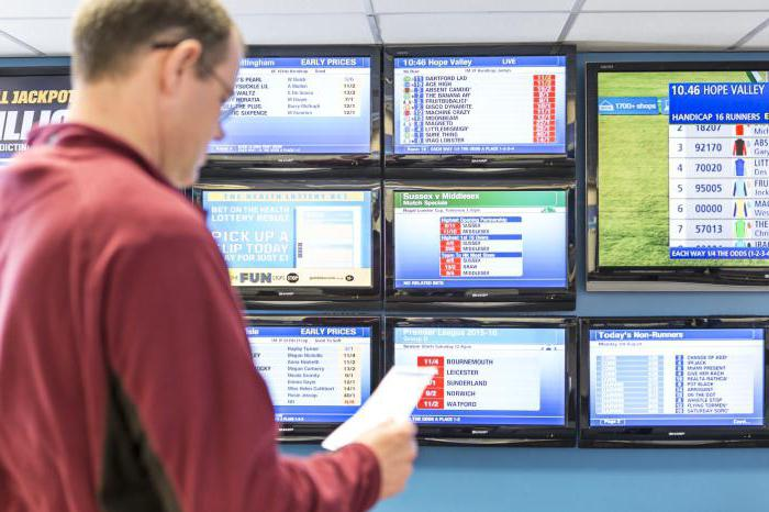 betting system in a bookmaker