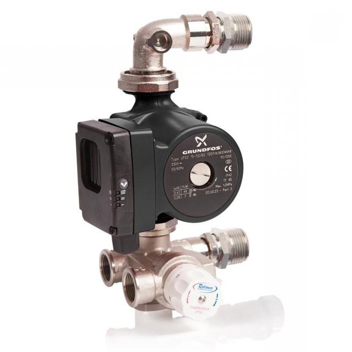 pump and mixing unit valtec