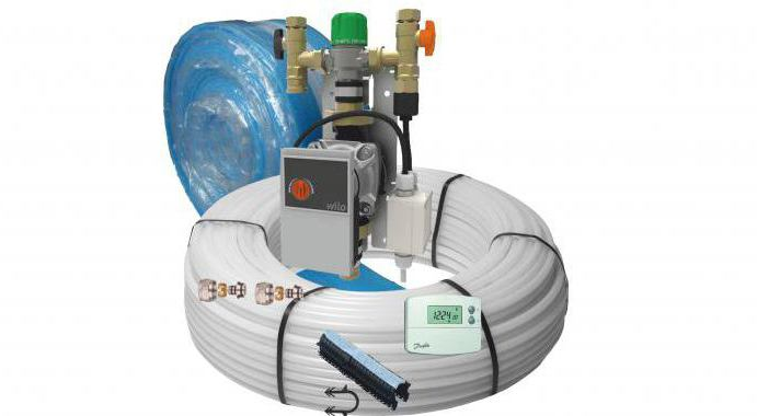 pump and mixing unit for underfloor heating Price