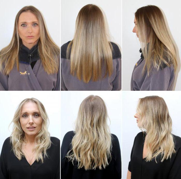 брондирование на средне русые волосы