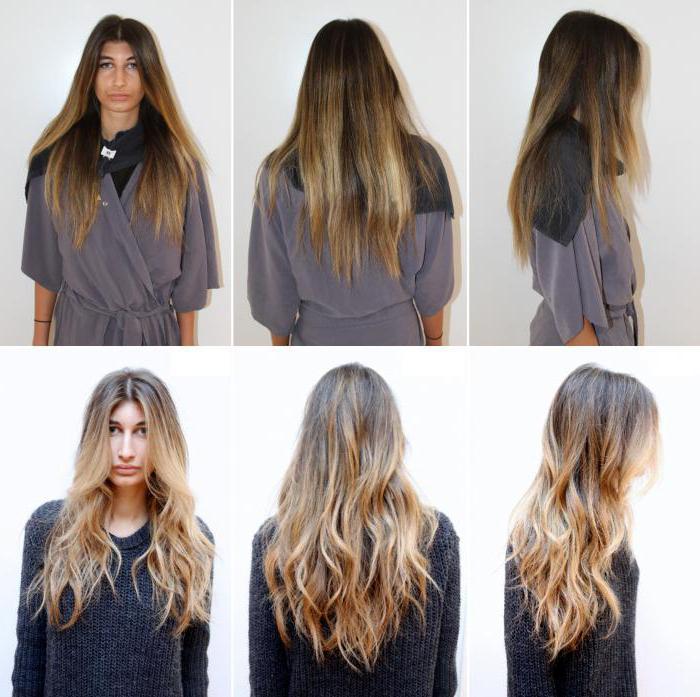 брондирование на темно русые волосы