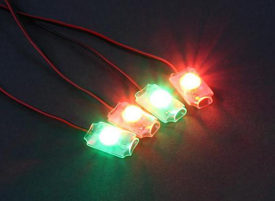 high-brightness LED characteristics