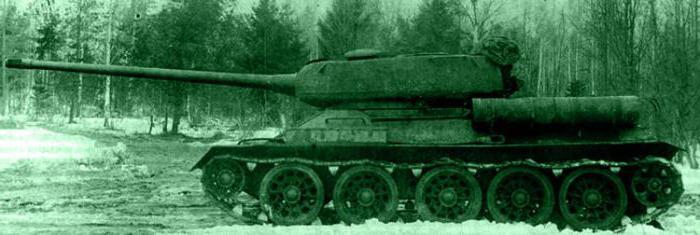 Soviet tank t 34 100