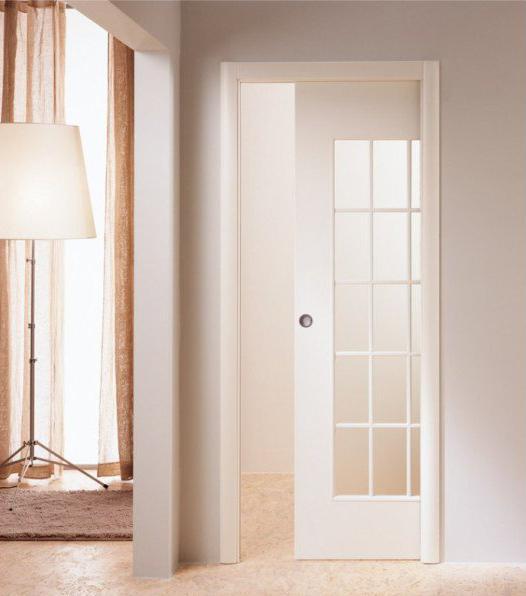 Откатная межкомнатная дверь