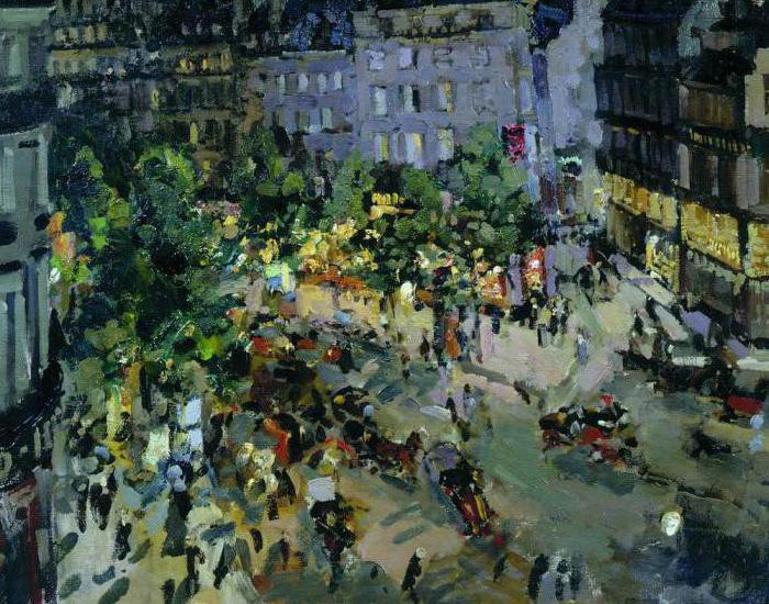 Konstantin Korovin paintings