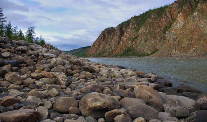 река в якутии