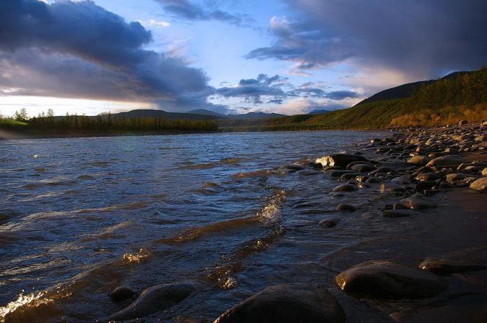 падение реки индигирка