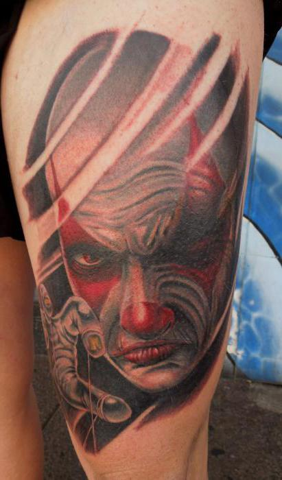 tattoo joker photo