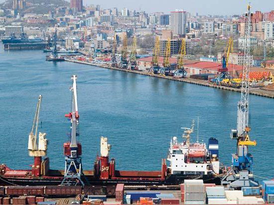 Vladivostok seaport