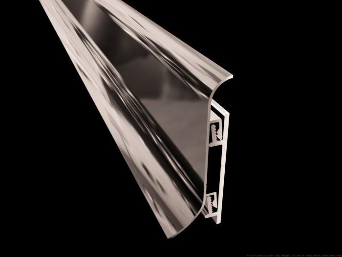 Алюминиевые плинтуса: обзор, виды, особенности и отзывы
