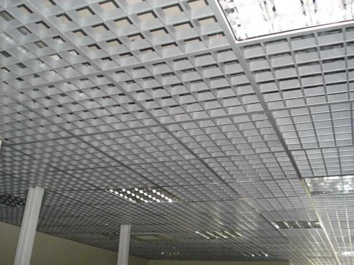 suspended cellular ceiling grilyato