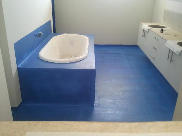Badezimmer abdichtung unter fliesen die besser - Abdichtung estrich badezimmer ...