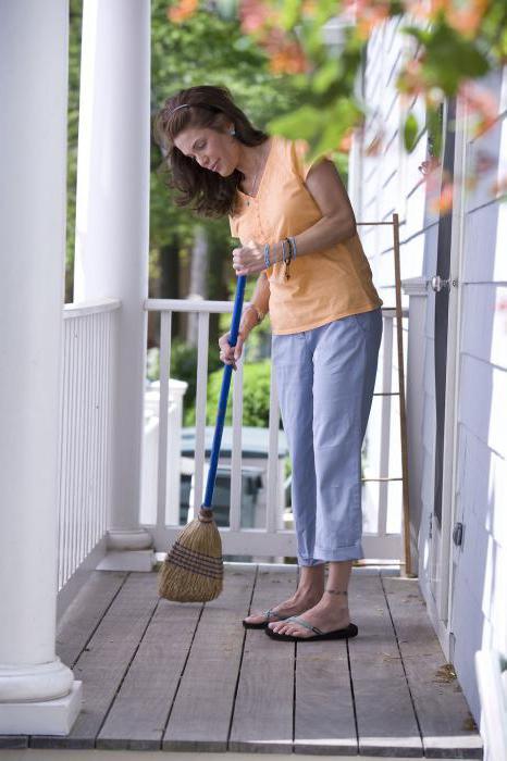 sweep the floor in your sleep